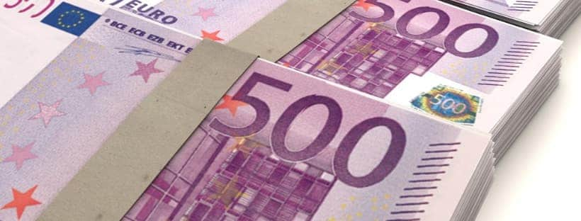 500 евро банкноти Europe