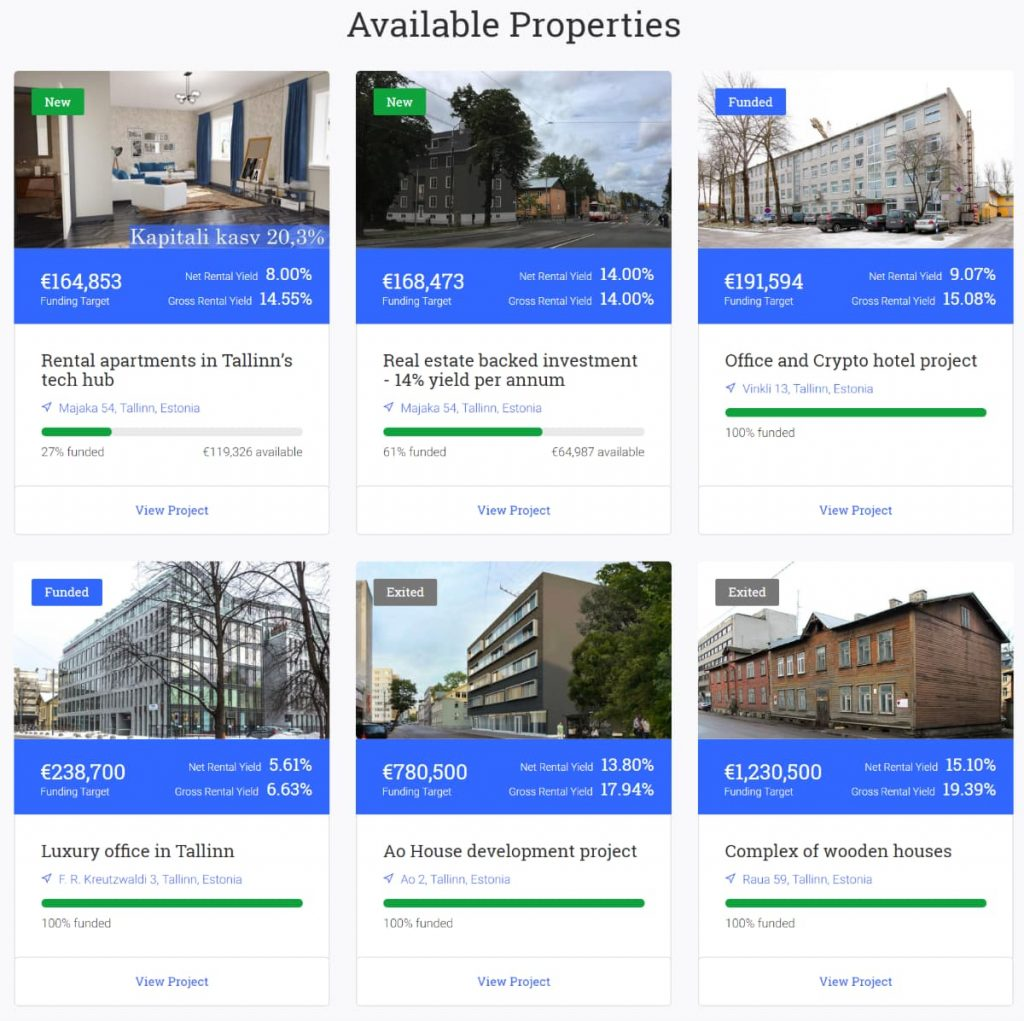 Reinvest24 real estate investing for rental income in Europe