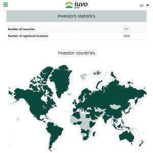 Иуво инвеститори от цял свят Peer2Peer lending iuvo Peer to Peer investing