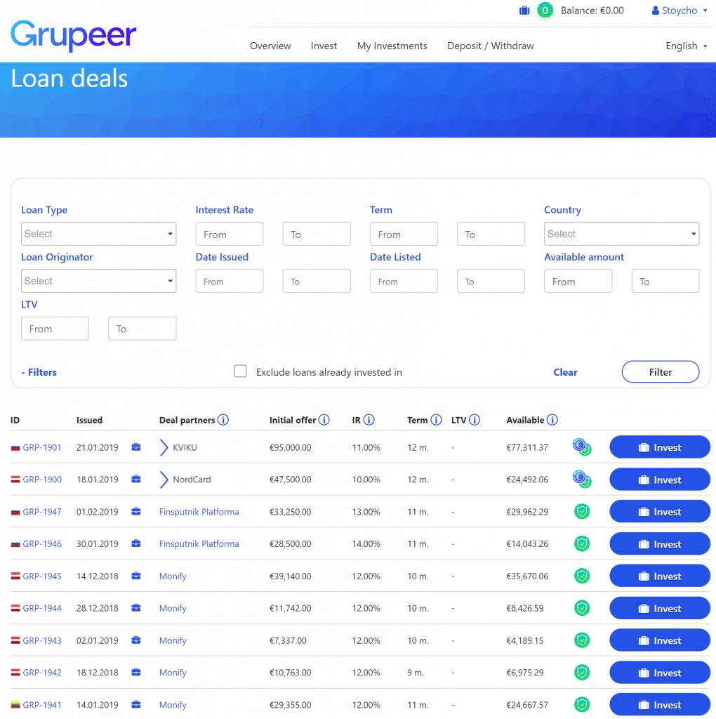 Grupeer Review P2P investment п2п групеер