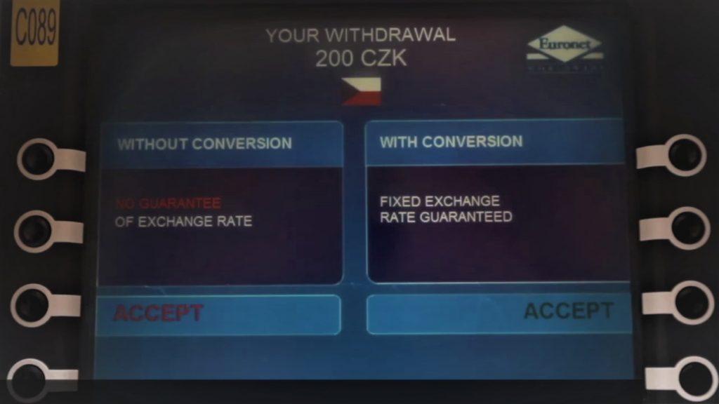 Безплатно теглене от банкомат Револут ATM DCC