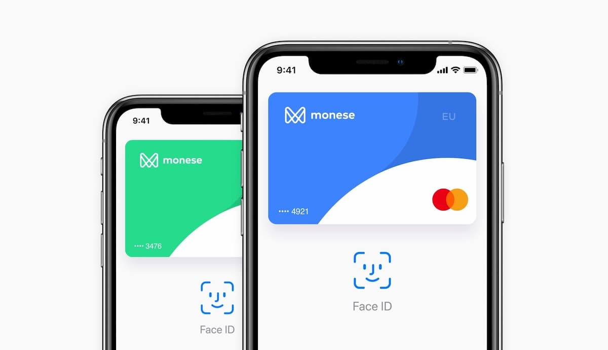 Monese Apple Pay България