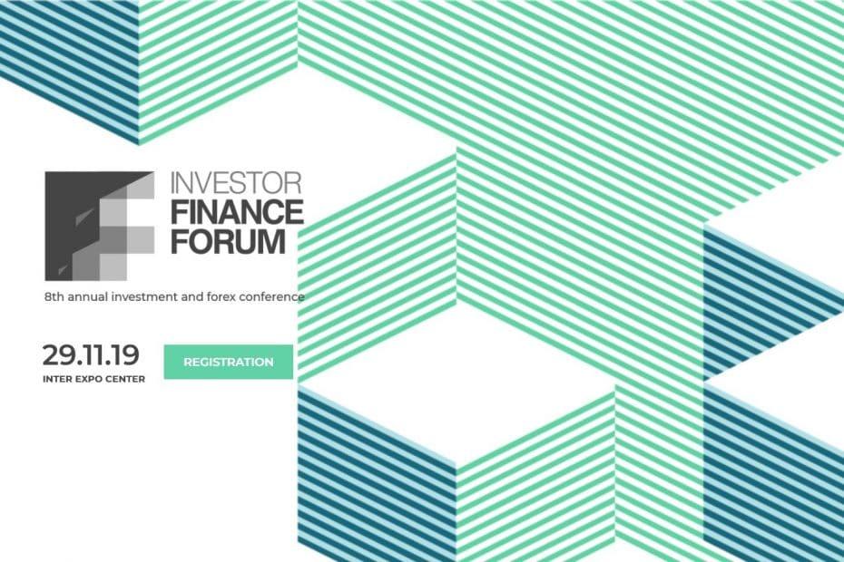 Investor Finance Forum 2019 промокод код за отстъпка