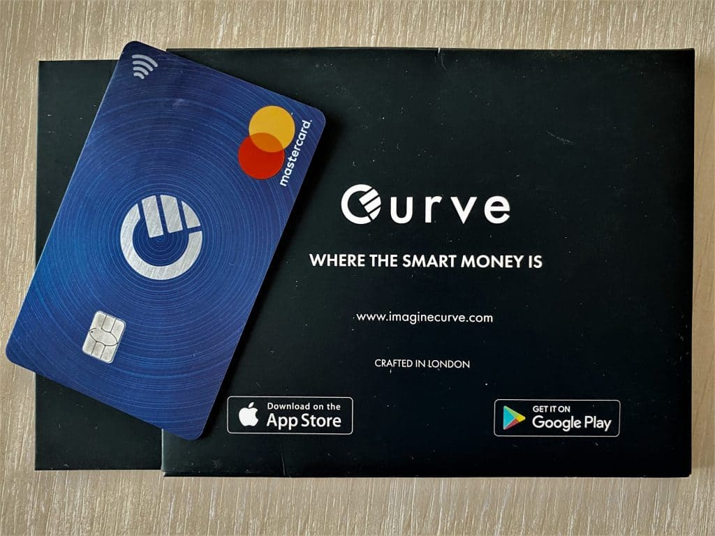Curve Blue Card Apple Pay курве кърв карта