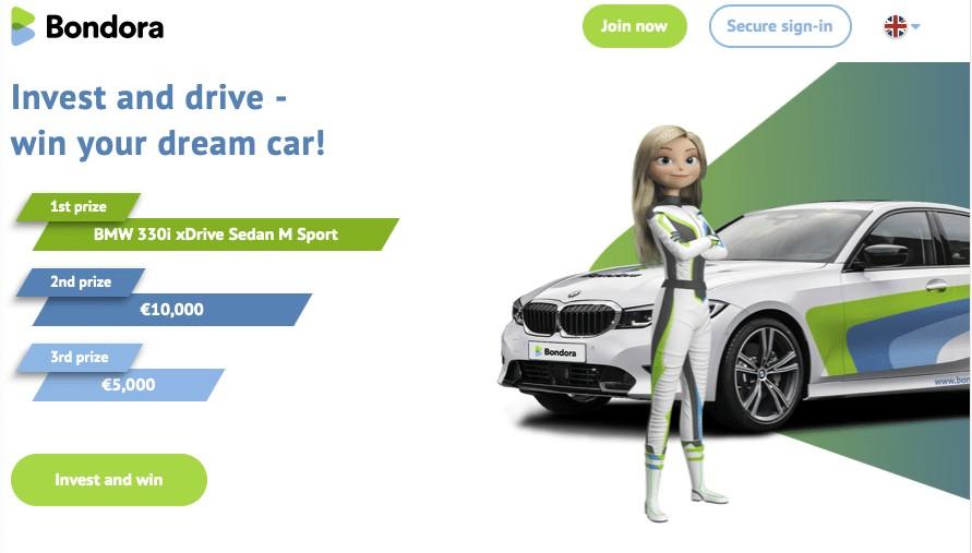 Bondora win BMW